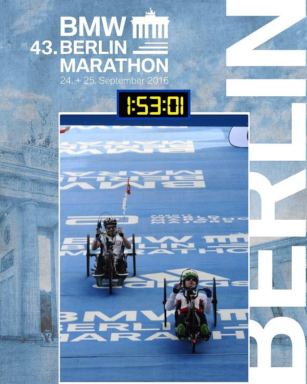Benjamin Frueh Berlin Marathon
