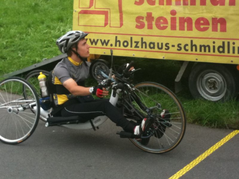 Benjamin Früh Handbike 2010